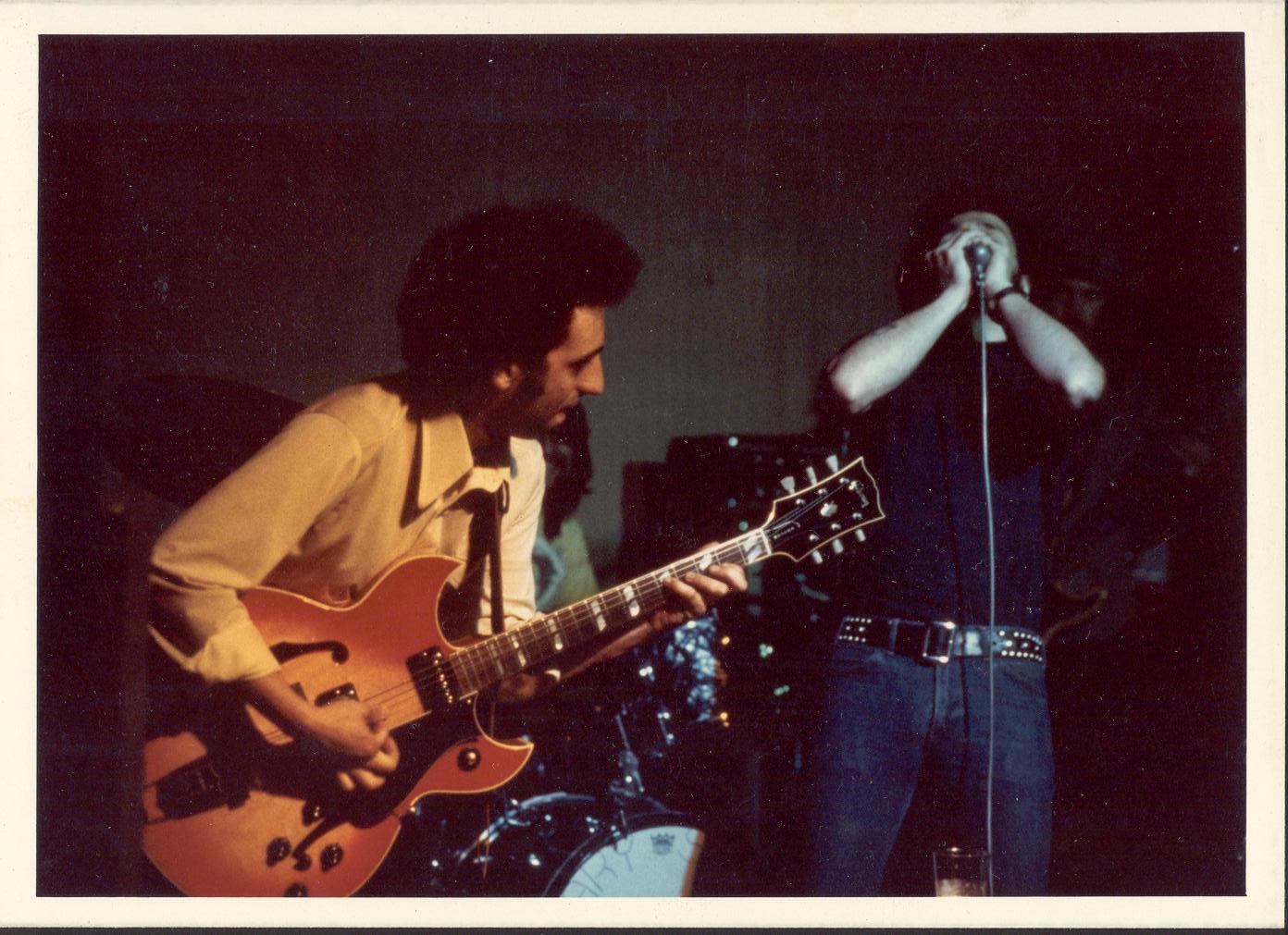 John Garcia plays with Gary Smith.