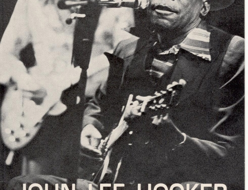 John García performs in Le Mans, France with John Lee Hooker.