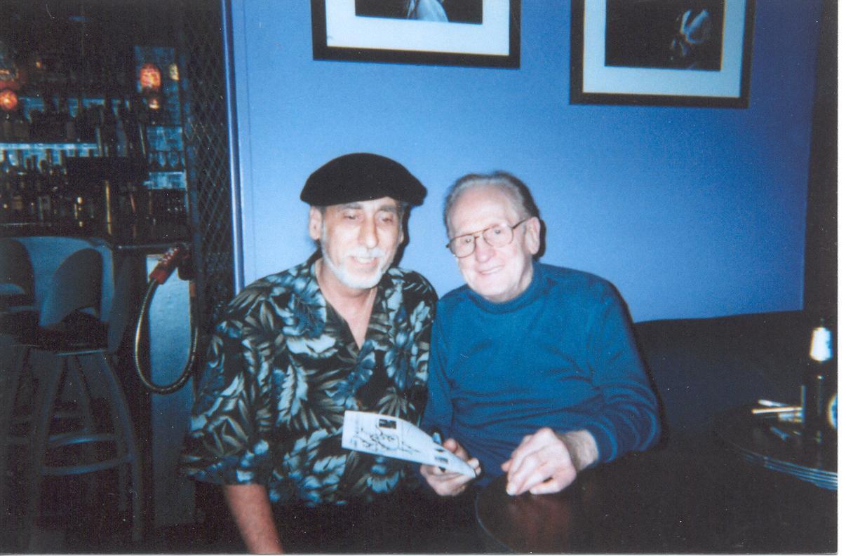 John García meets Les Paul.