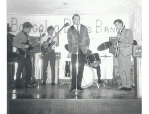 First group the Boogaloo Blues Band – 1968-69.