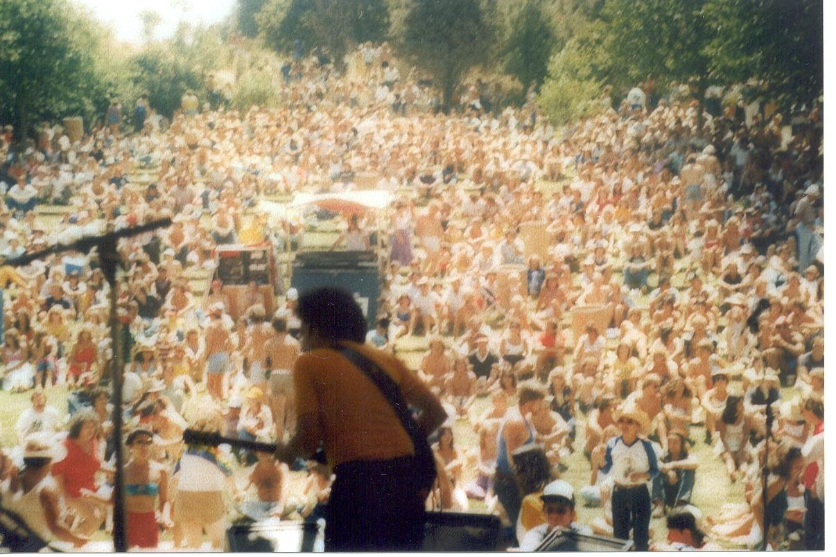 Photo taken at the Gilroy Garlic Festival -mid 80's.