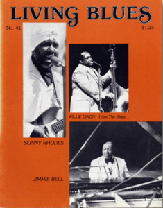 Living Blues vol. 041 – Nov-Dec 1978, cropped