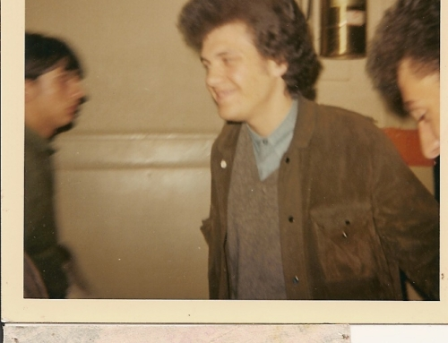 Mike Bloomfield and John Garcia at Fillmore in San Francisco -1968-69.